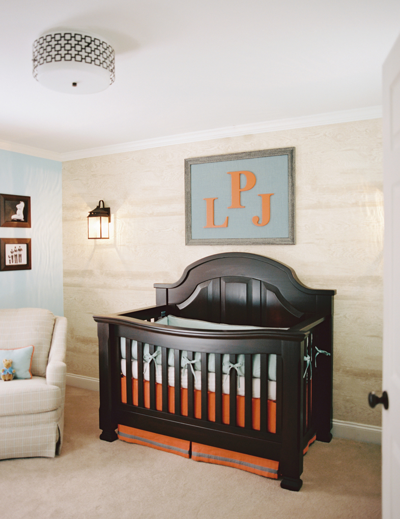 This Hip, Young Mom Wanted An Updated Look For Her Newborn Sonu0027s Nursery.  This Room As Designed To Grow Up With The Boy With Key Pieces: The Custom  ...